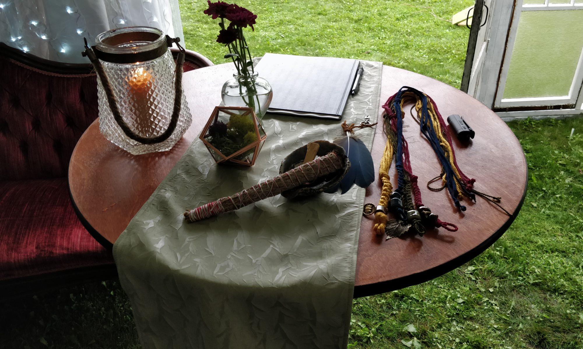 Tidal Ceremonies and Fibre Arts